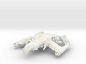 Romulan FireBird V  HvyDestroyer in White Natural Versatile Plastic