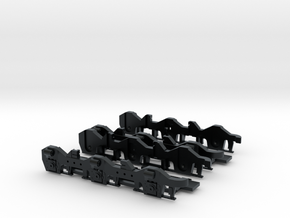 Triple Clasp HT-C - N - Kato Early Production in Black Hi-Def Acrylate
