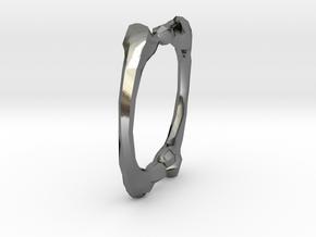 Link in Polished Silver: Medium