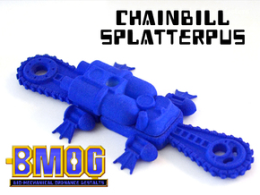 BMOG Chainbill Splatterpus 4-part Kit in Blue Processed Versatile Plastic