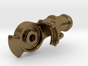 """Air Brake Gladhand - 2.5"""" scale - REV, LIVE STEAM in Natural Bronze"""