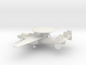 Northrop Grumman E-2 Hawkeye in White Natural Versatile Plastic: 1:200