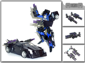 Vehicon Arm Blaster in White Strong & Flexible