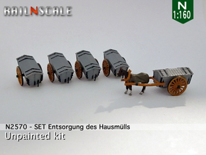 SET Entsorgung des Hausmülls (N 1:160) in Smooth Fine Detail Plastic