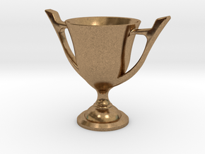 Trophy Cup in Natural Brass