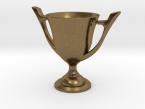 Trophy Cup in Natural Bronze