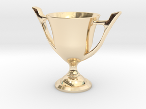 Trophy Cup in 14K Yellow Gold