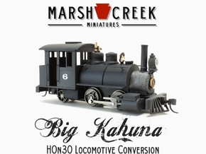 HOn30 0-4-2 Locomotive BIG KAHUNA in Smoothest Fine Detail Plastic