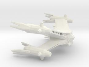 Starfury (Babylon 5), 1/270 in White Natural Versatile Plastic