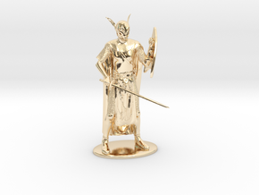 High Elf Miniature in 14K Yellow Gold: 1:60.96