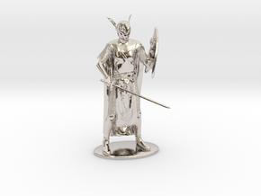 High Elf Miniature in Platinum: 1:60.96