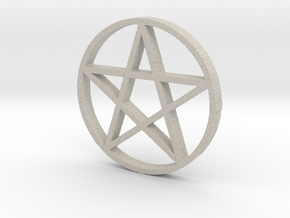 Pentagram (Pentacle) in Sandstone