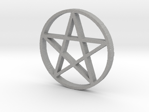Pentagram (Pentacle) in Aluminum