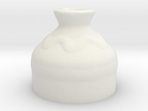 Medium Pot - Legend of Zelda Ocarina of Time in White Natural Versatile Plastic