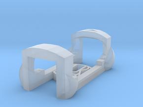 plastic clip for garmin foot pod SDM4 in Smooth Fine Detail Plastic