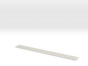 Stromschiene Modern 20 cm in White Natural Versatile Plastic