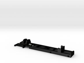 1:87 Herpa RC- frame 2 axle MAN-HDS in Matte Black Steel