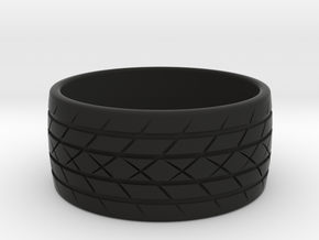 Tire Ring in Black Natural Versatile Plastic: 10 / 61.5