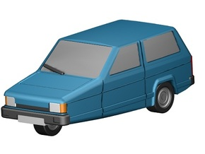 Reliant Robin (Z-Scale 1:220) in Frosted Ultra Detail