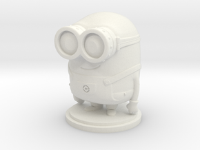 Minions Bob in White Natural Versatile Plastic