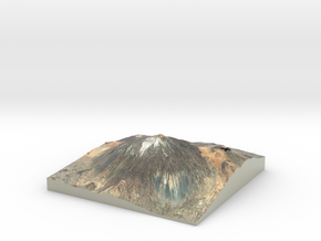 Pico del Teide Map, 1:30,000 in Glossy Full Color Sandstone
