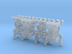 Dwarf B&O CPL Multi-Config(6) - HO 87:1 Scale in Smooth Fine Detail Plastic
