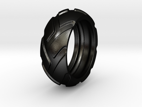 r8x45 - Tire Ring in Matte Black Steel: 6 / 51.5