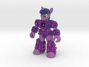 Scholarly Sparkle (Full Color) Battle Beast in Full Color Sandstone