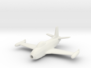 North American FJ-1 'Fury' (with drop tanks) in White Strong & Flexible: 1:200