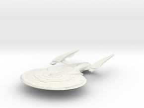 Gordon Class  Cruiser in White Natural Versatile Plastic