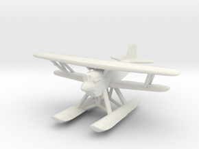 Curtiss F6C 'Hawk' (with floats) in White Natural Versatile Plastic: 1:200