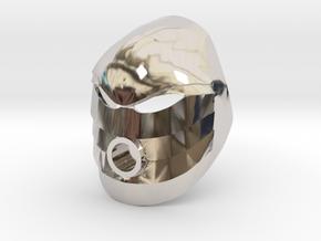Noble Kanohi Rau in Platinum