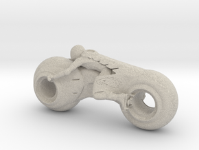Printle Future Bike in Natural Sandstone