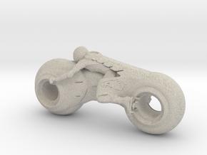 Printle Future Bike in Natural Sandstone