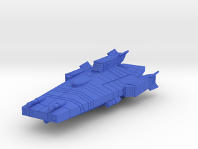 Haydron Strike Cruiser in Blue Processed Versatile Plastic