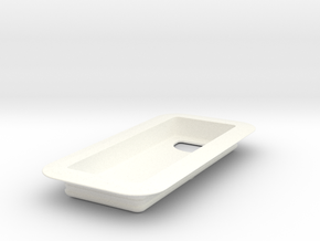 Hue Dimming Switch - Flat Mount in White Strong & Flexible Polished