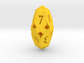 Amonkhet D10 Spindown Life Counter, Large S in Yellow Processed Versatile Plastic