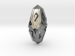 Amonkhet D10 Spindown Life Counter - Small, in Natural Silver