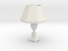 Printle Thing Lamp 02 - 1/24 in White Natural Versatile Plastic