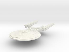 Folorida Class V  BattleCruiser in White Natural Versatile Plastic