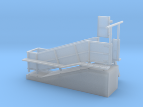 1/64 Cattle Loading Chute in Smooth Fine Detail Plastic