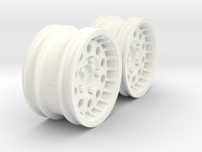 Wheels - M-Chassis - 037 Style - 3mm Offset in White Strong & Flexible Polished