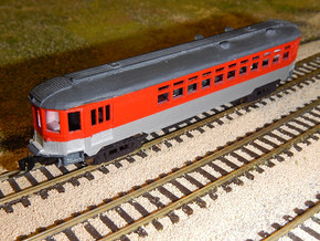 CNSM 251 Silverliner Combine in Smooth Fine Detail Plastic