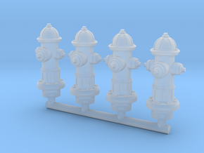 Hydrant 28mm Group in Frosted Extreme Detail
