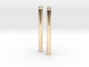 Bubbles Earrings in 14k Gold Plated
