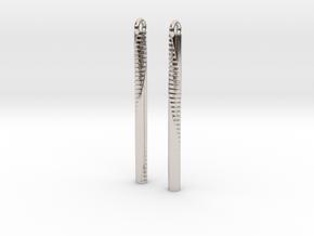 Andromeda Earrings in Platinum