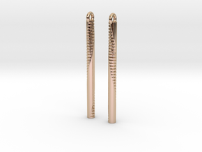 Andromeda Earrings in 14k Rose Gold Plated