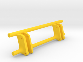 UH Stoll Wiking Frontlader Adapter in Yellow Processed Versatile Plastic