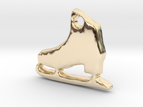 Skater's Delight™ Charm in 14K Yellow Gold