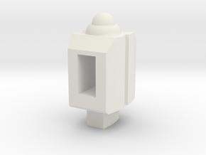 MakeToys Contact Shot Target Master Adapter in White Natural Versatile Plastic